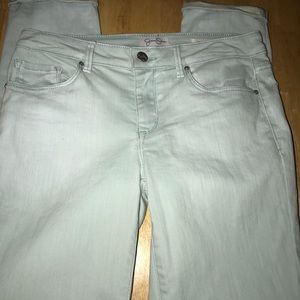 Jessica Simpson Rolled Skinny Crop Size 4/27